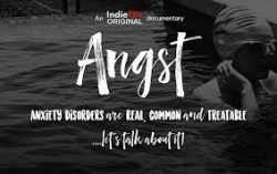 Free screening of ANGST - a film about anxiety, truth and hope @ Virtual Event
